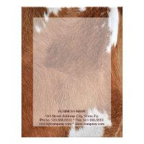 Cow Fur Letterhead