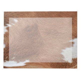 Cow Fur Notepad