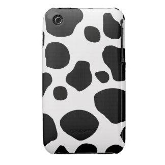 Cow fur skin hide cute nature animal pattern Case-Mate iPhone 3 case