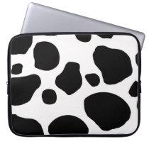 Cow fur skin hide cute nature animal pattern computer sleeve
