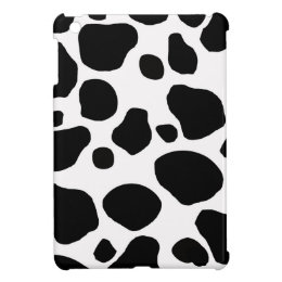 Cow fur skin hide cute nature animal pattern iPad mini cover