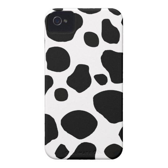 Cow fur skin hide cute nature animal pattern iPhone 4 case