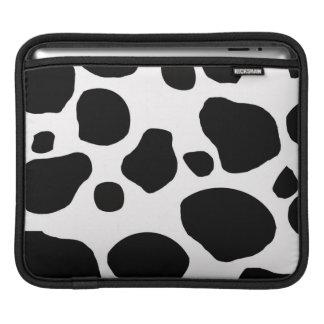 Cow fur skin hide cute nature animal pattern sleeve for iPads
