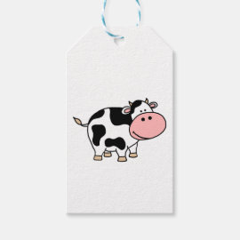 Cow Gift Tags