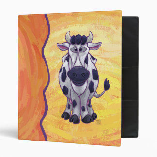 Cow Gifts & Accessories 3 Ring Binder