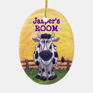 Cow Gifts & Accessories Ceramic Ornament