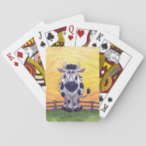 Cow Gifts & Accessories Playing Cards