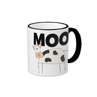Cow Gifts Ringer Coffee Mug