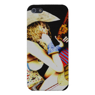 Cow girl 2 iPhone SE/5/5s cover
