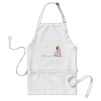 Cow Girl Adult Apron