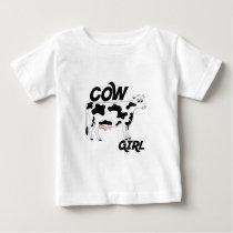 Cow Girl Baby T-Shirt