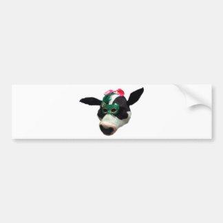 Cow Girl Bumper Sticker