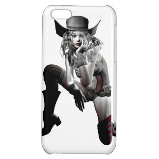 Cow girl case for iPhone 5C