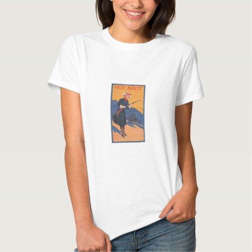 Cow Girl - Hot Shot Vintage Tee Shirt