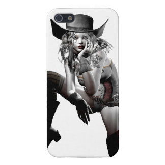 Cow girl iPhone 5 case