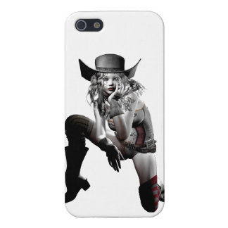 Cow girl iPhone SE/5/5s cover