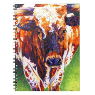 Cow Girl - Longhorn Heifer Notebook