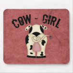 Cow-Girl Mouse Pads