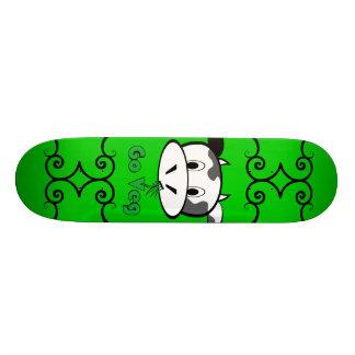 Cow Go Veg Skate Board