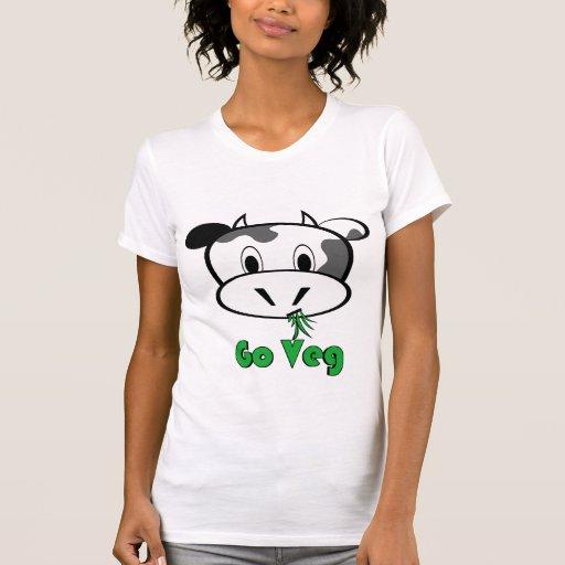 Cow Go Veg Tee Shirt