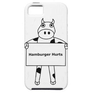 Cow:  Hamburger Hurts iPhone SE/5/5s Case