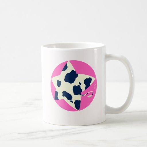 Cow handle star 2 mugs