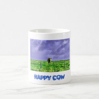 cow, HAPPY COW Classic White Coffee Mug
