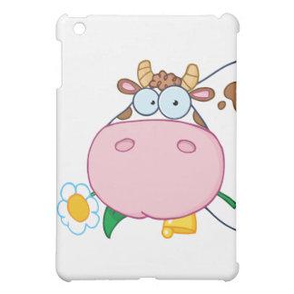 Cow Head Cartoon Character iPad Mini Cases