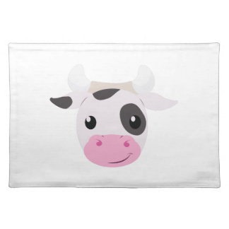 Cow Head Cloth Placemat