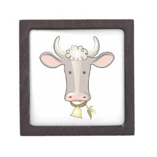 Cow Head Premium Keepsake Box