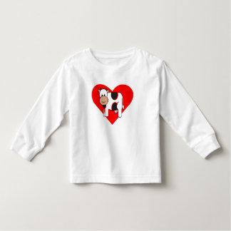 Cow Heart Toddler T-shirt