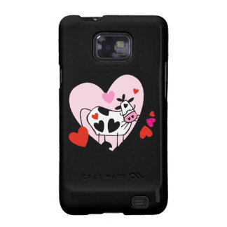 Cow Hearts Galaxy SII Cases