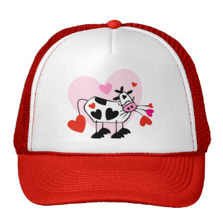 Cow Hearts Hats