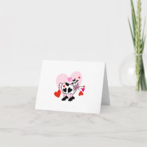 Cow Hearts Holiday Card