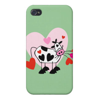 Cow Hearts iPhone 4/4S Case