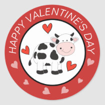 Cow Hearts Valentines  stickers
