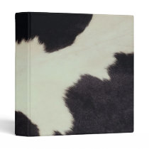 Cow Hide 3 Ring Binder