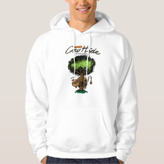 Cow Hide Basic Hooded Sweatshirt