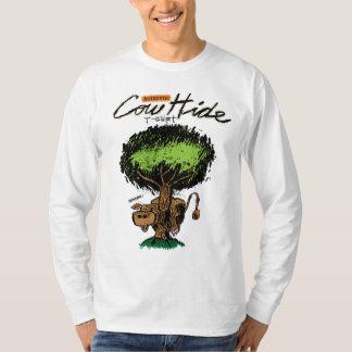 Cow Hide Basic Long Sleeve T-Shirt