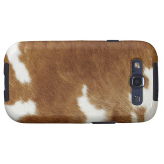 Cow hide samsung galaxy s3 cases