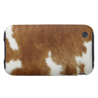 Cow hide iPhone 3 tough covers