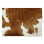 Cow hide greeting cards