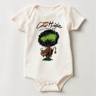 Cow Hide Infant Organic Creeper