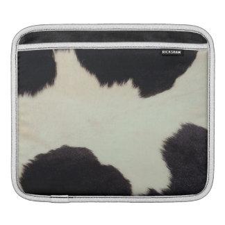 Cow hide iPad sleeves