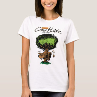 Cow Hide Ladies Baby Doll (fitted) T-Shirt