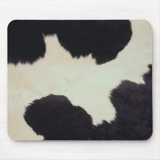 Cow Hide Mouse Pad