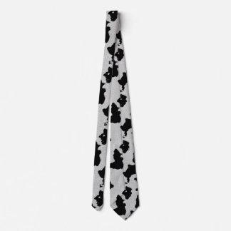 Cow Hide Neck Tie