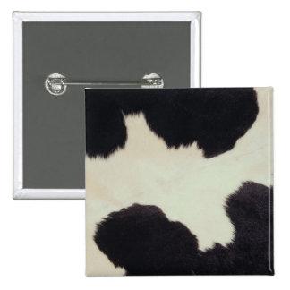 Cow Hide Pinback Button