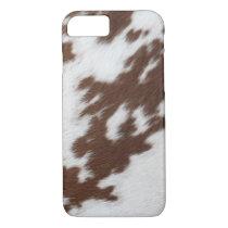 Cow Hide Print Iphone 7 case