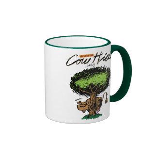 Cow Hide Ringer Mug